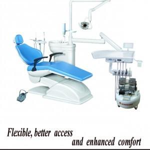 Dental chair mounted unit fortuna std