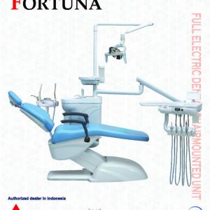 Dental chair mounted unit fortuna