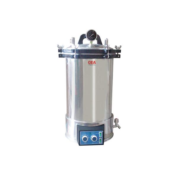 Gea medical portable stainless steel steam sterilizer 18 l timer yx 18 ldj